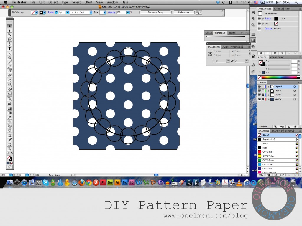 onelmon: DIY Pattern Paper