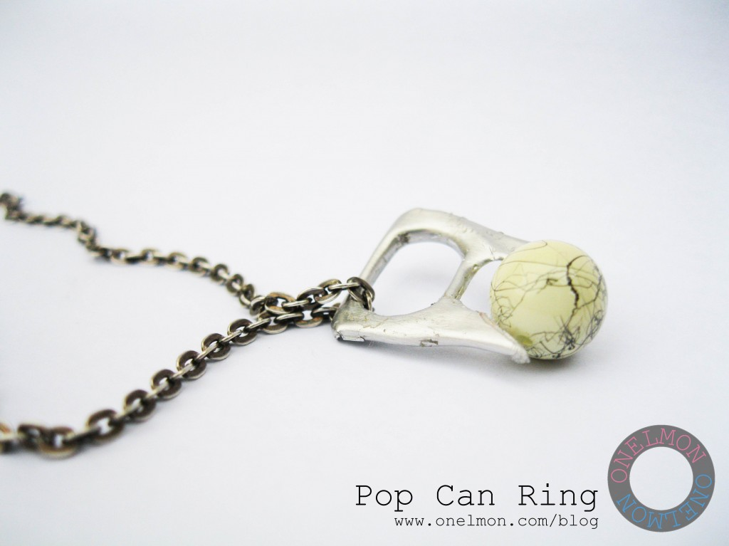 onelmon: Pop Can Ring