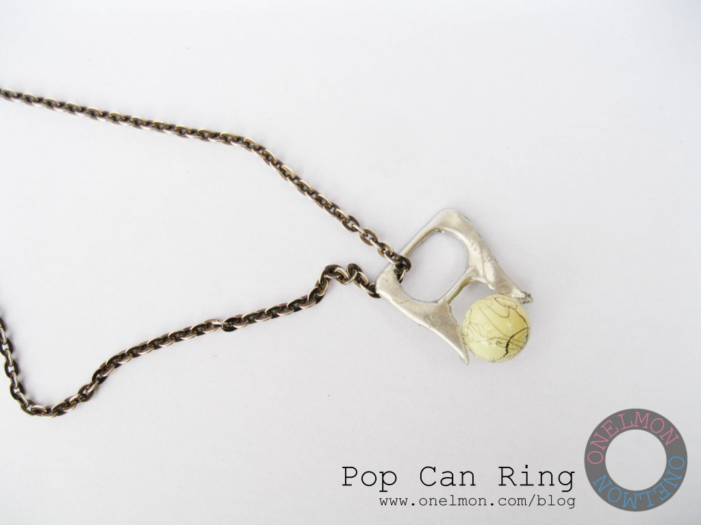 onelmon: Pop Can Ring - step 5