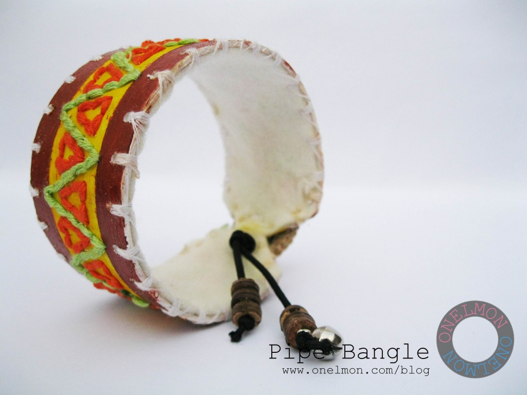 onelmon: pipe bangle - completed