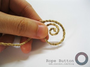 onelmon: Rope Button - step 1