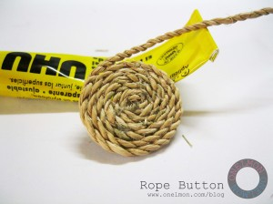 onelmon: Rope Button - step 2