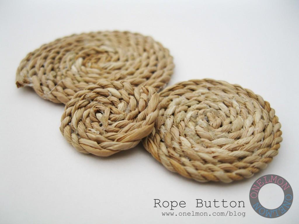 onelmon: Rope Button - various sizes