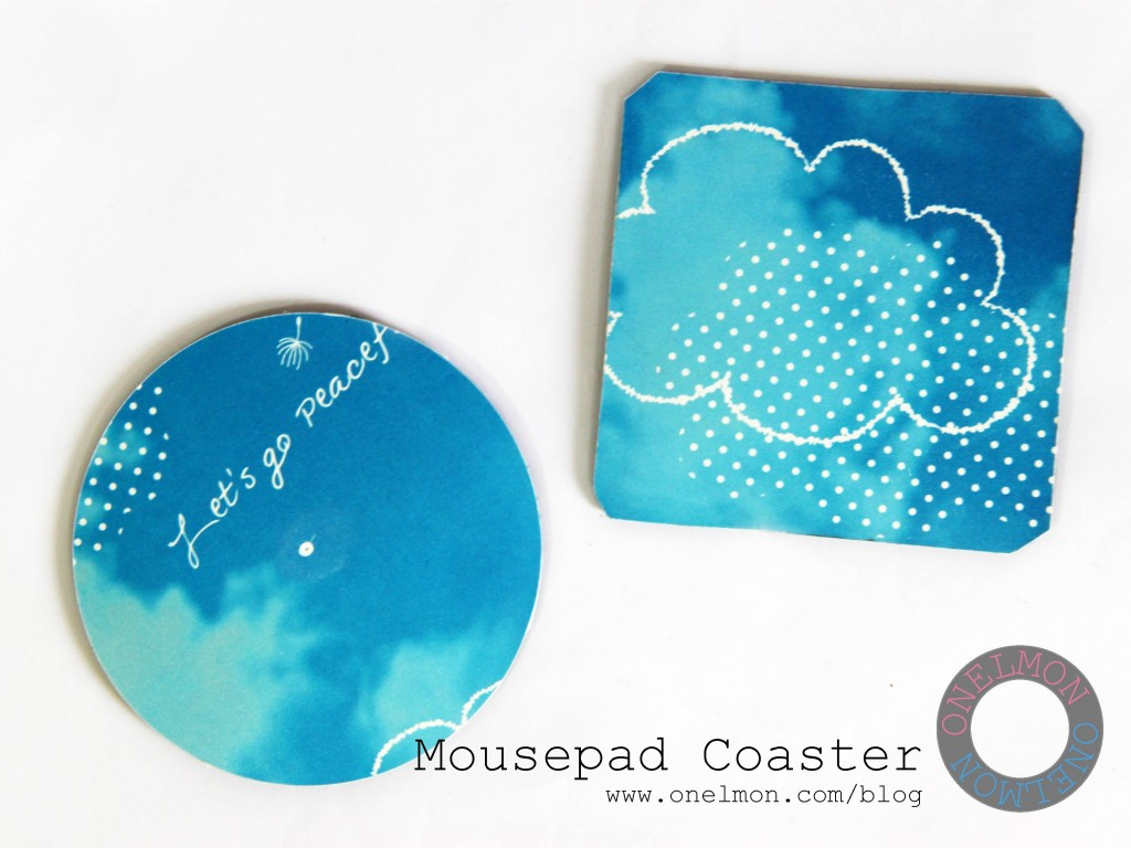 Mousepad Coaster @ onelmon
