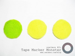 Tape Marker Monster @ onelmon - 01