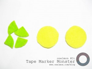 Tape Marker Monster @ onelmon - 02