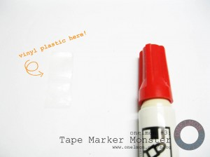 Tape Marker Monster @ onelmon - 06