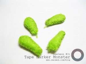 Tape Marker Monster @ onelmon - 09