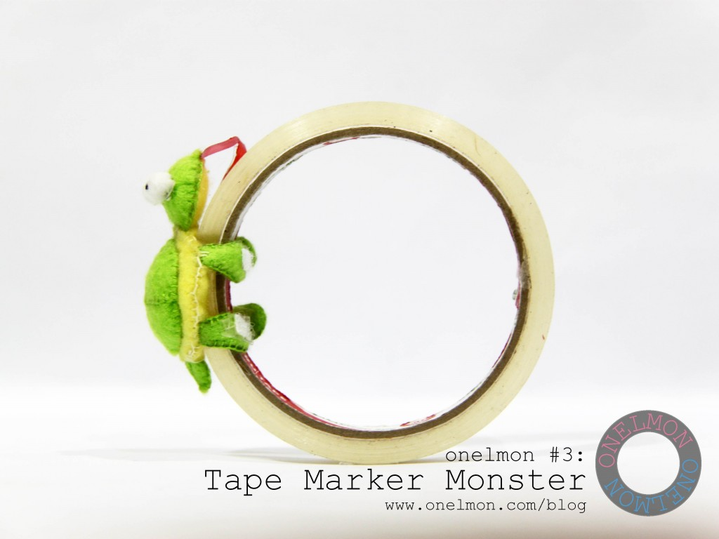 Tape Marker Monster @ onelmon - act 2