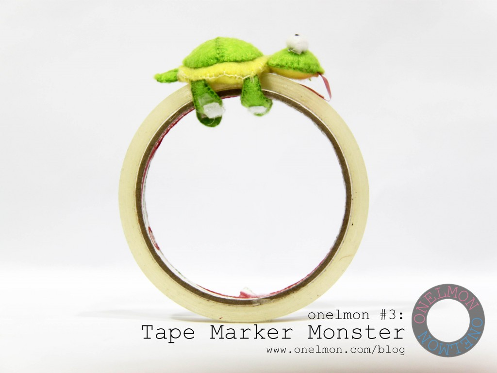 Tape Marker Monster @ onelmon - act 4