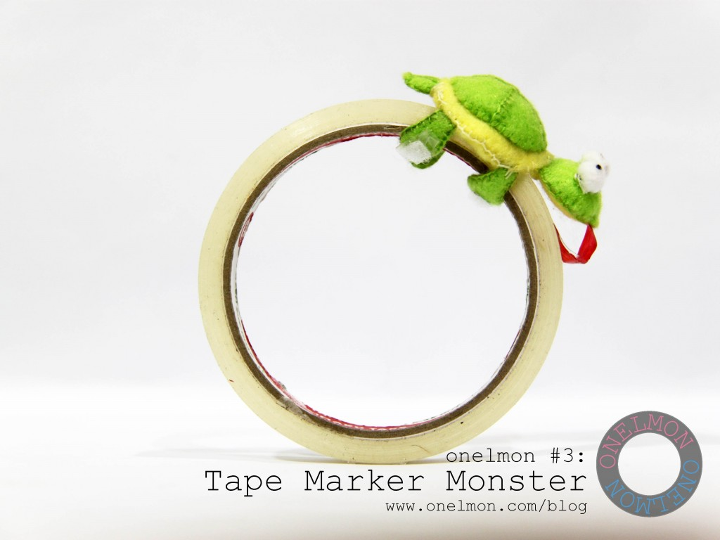 Tape Marker Monster @ onelmon - act 5