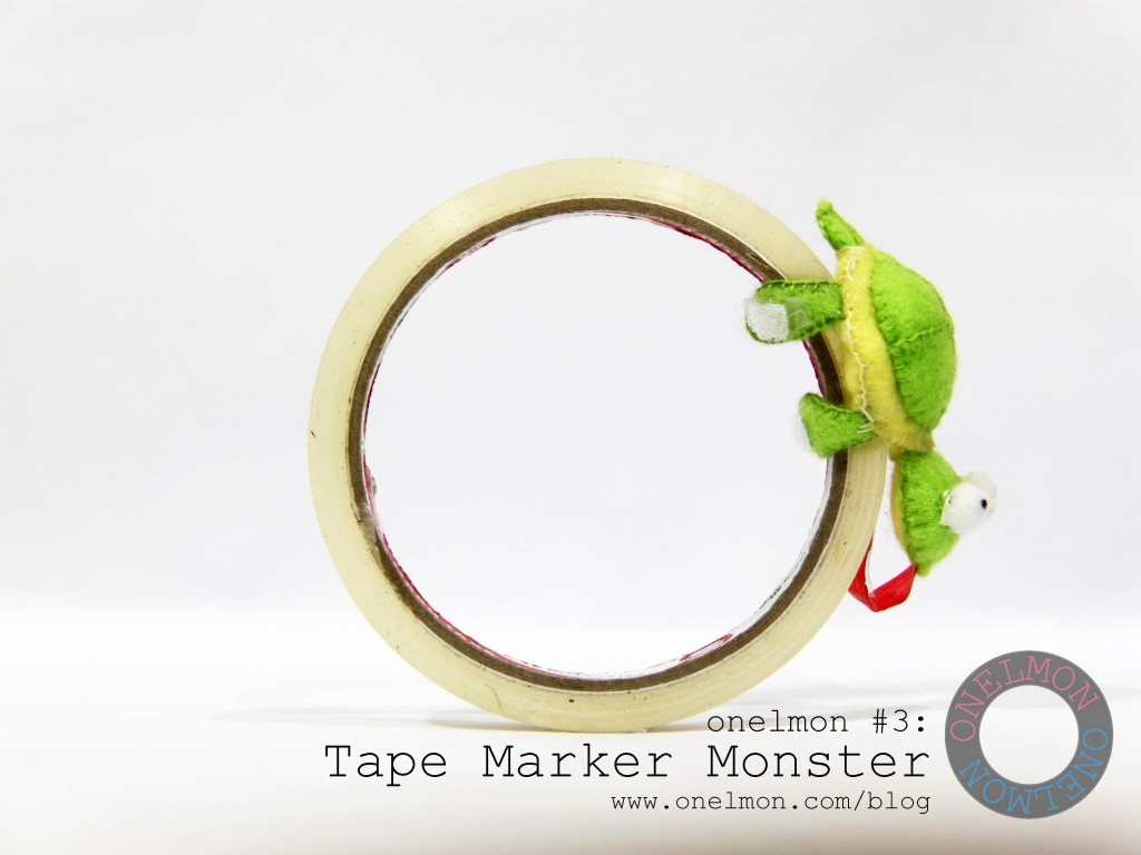 Tape Marker Monster @ onelmon - act 6