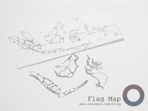 Flag Map @ onelmon