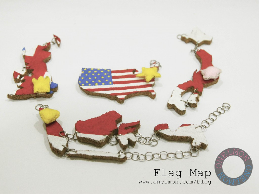 Flag Map @ onelmon