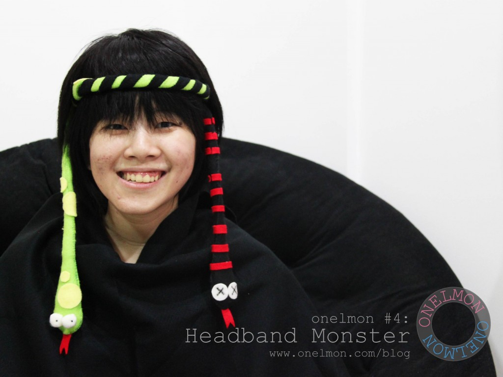 onelmon: Headband Monster
