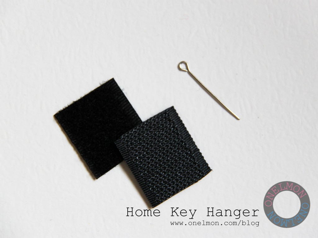 Felt and Velcro Key Hanger @ onelmon