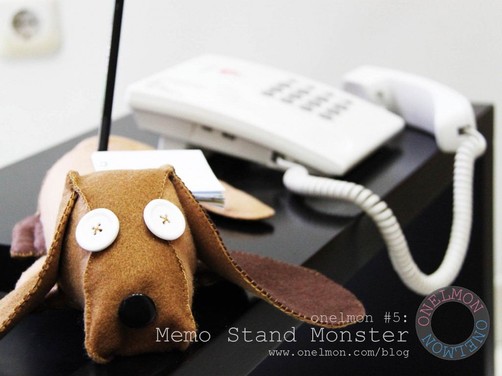 Memo Stand Monster @ onelmon