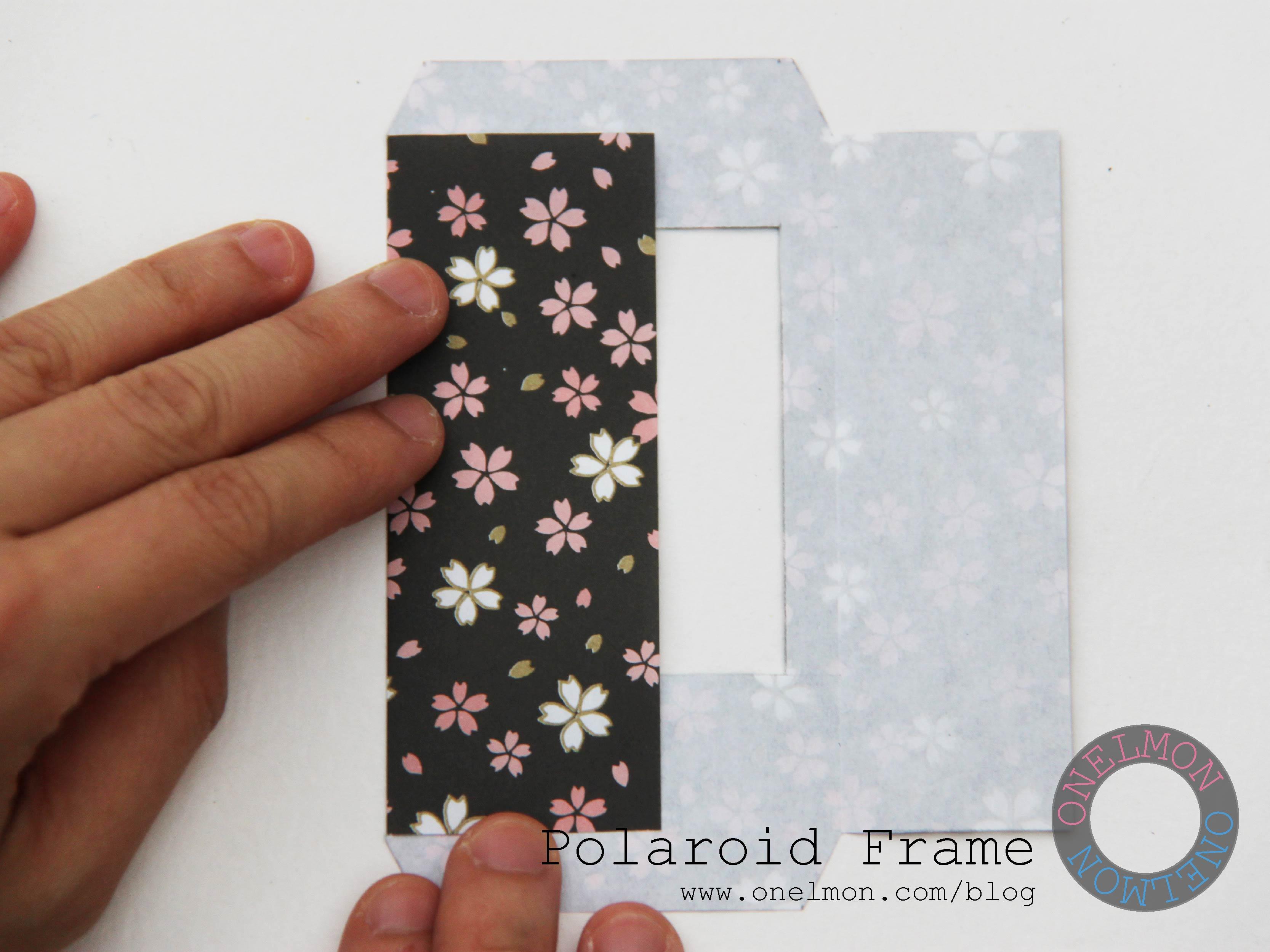 Diy Polaroid Frame Onelmon