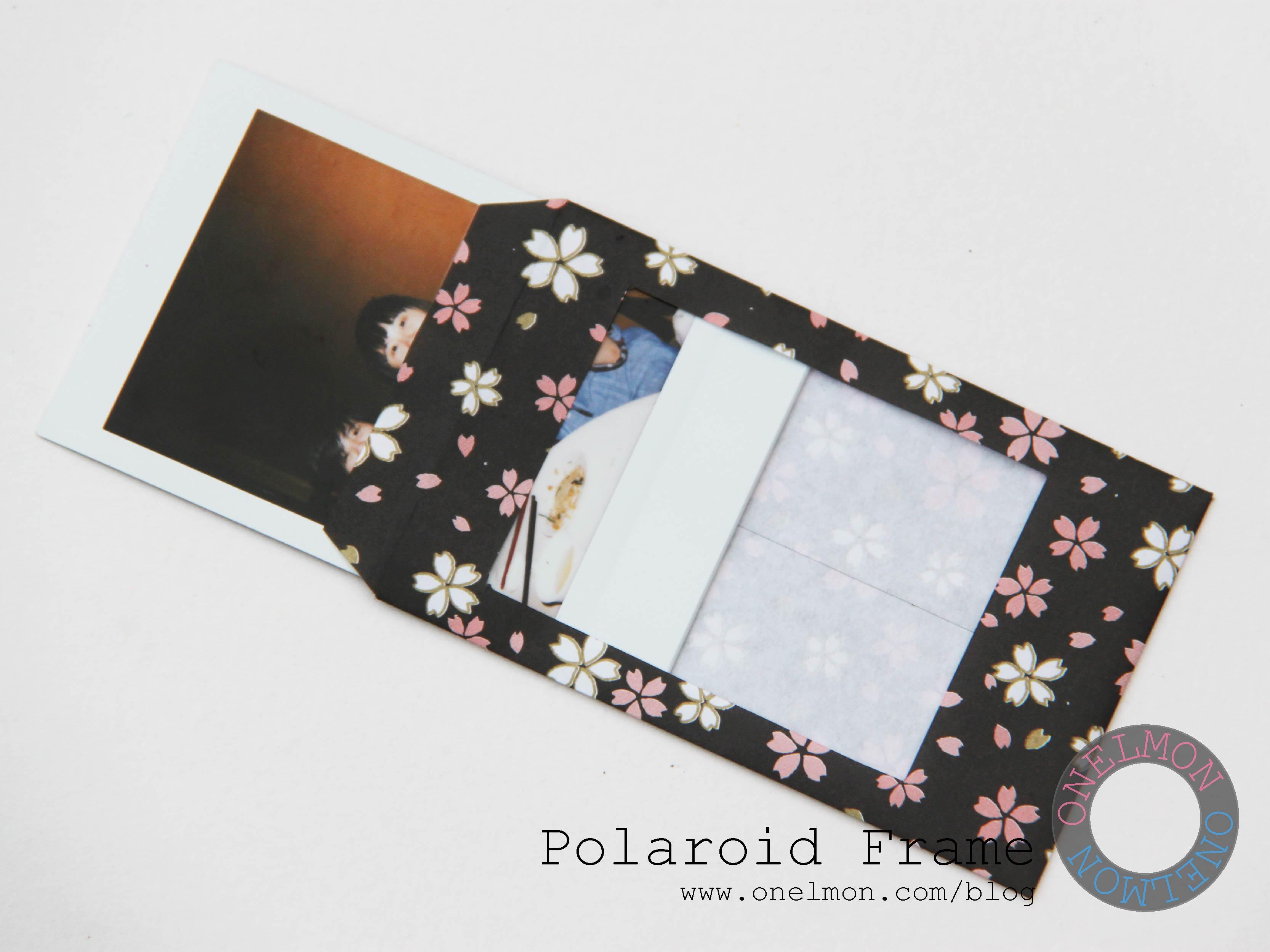 How To Make A Polaroid Frame Diy | Frameswalls.org