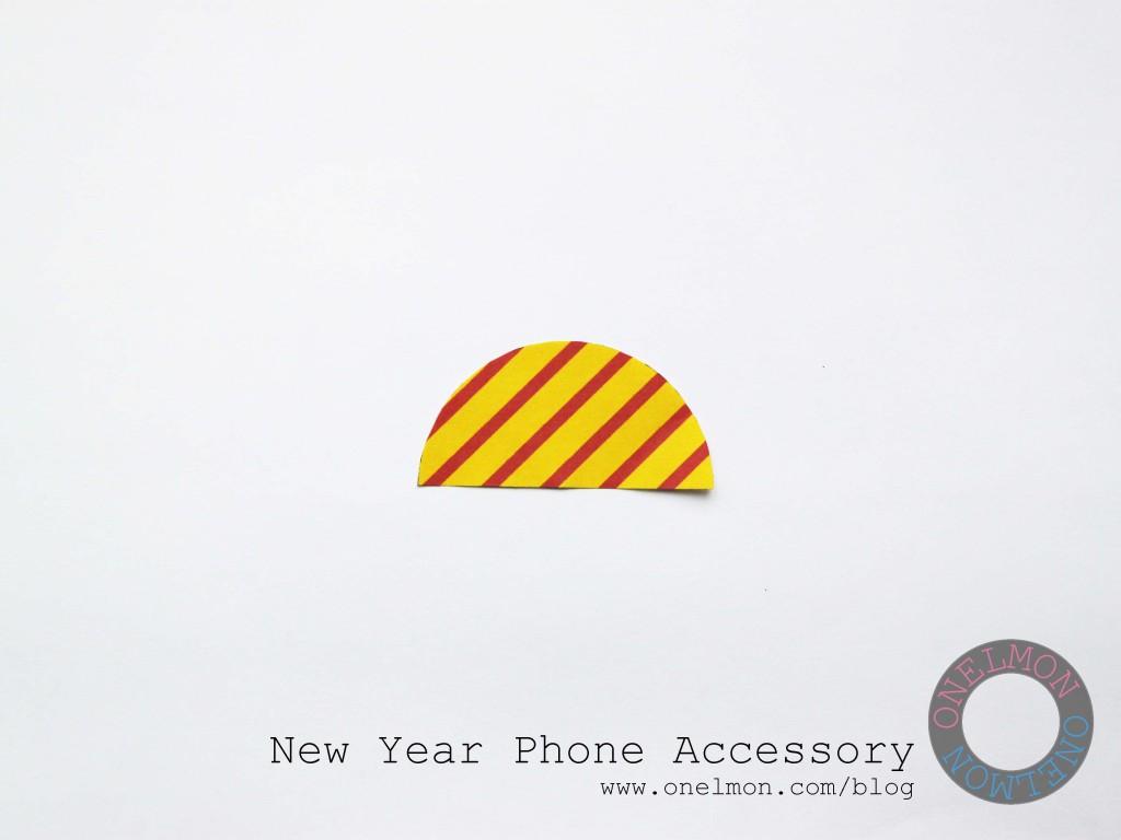 DIY New Year Phone Accessory | onelmon