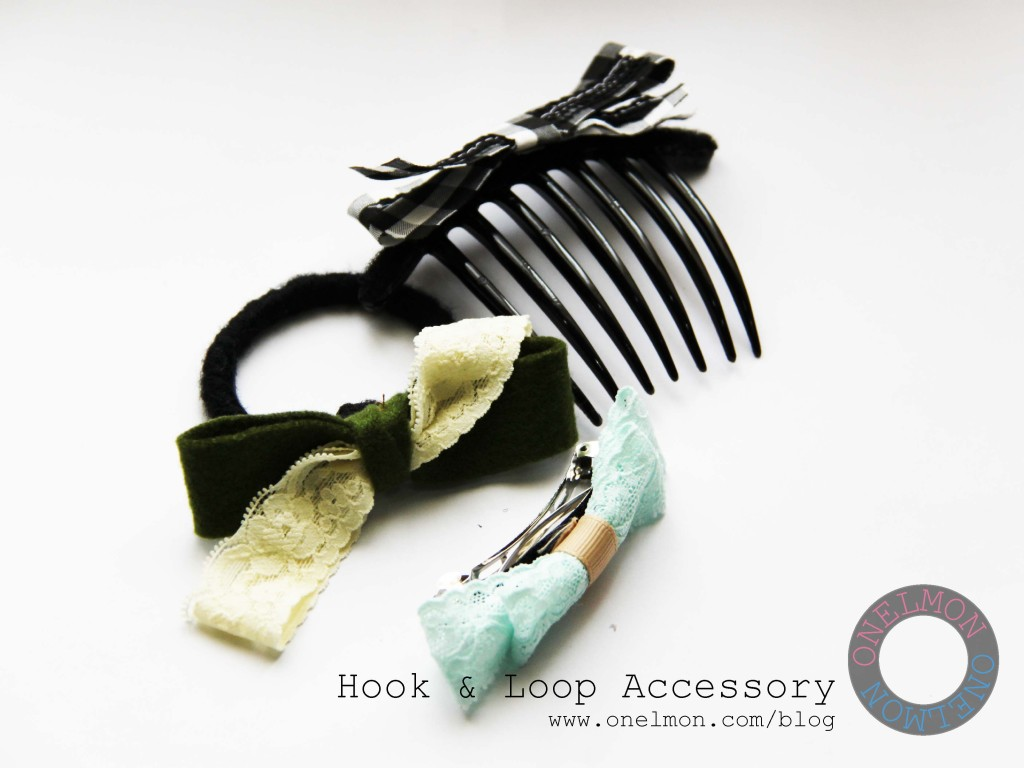 DIY Hook & Loop Accessory | onelmon