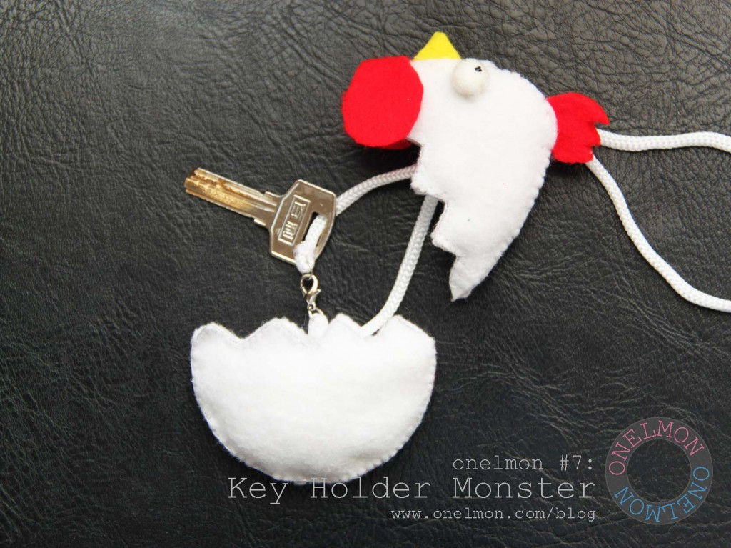 DIY Key Holder Monster Tutorial | onelmon