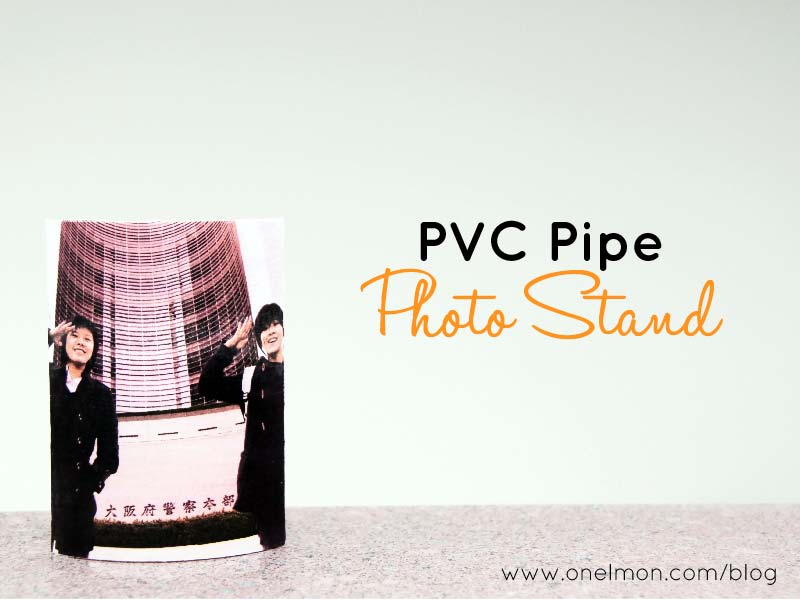 DIY Pipe Photo Stand | onelmon