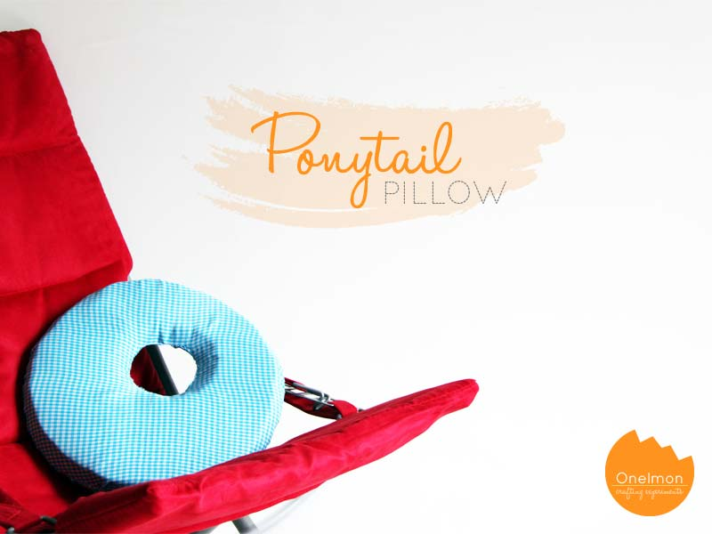 DIY Ponytail Pillow | onelmon