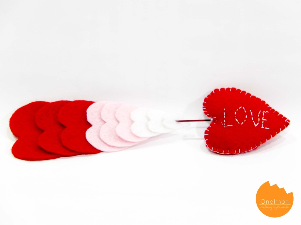 DIY Valentine Decor | onelmon