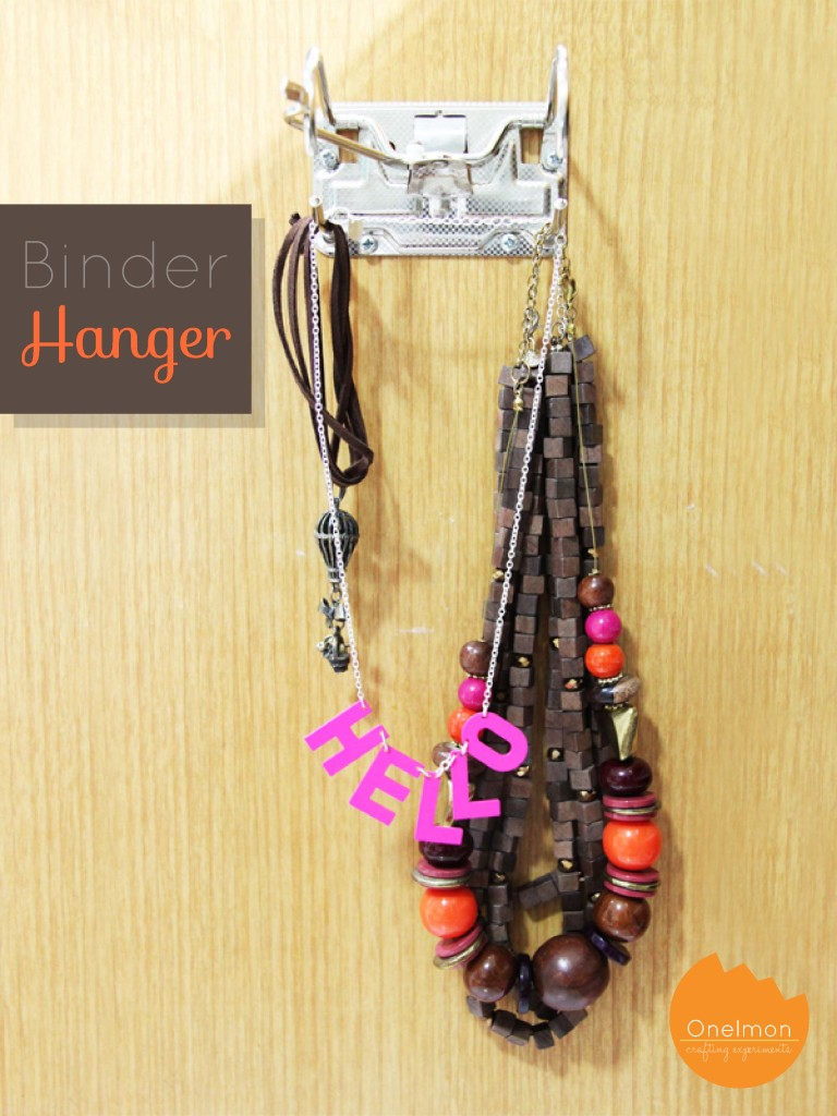 DIY Binder Hanger | onelmon