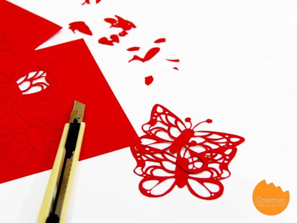 DIY Paper Butterfly Bow Tie | onelmon