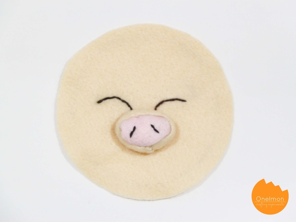 Felt Piggybank Monster | onelmon