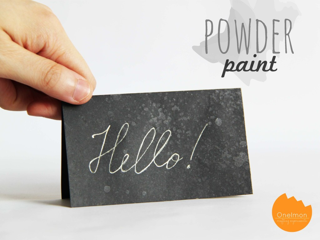 DIY Powder Paint