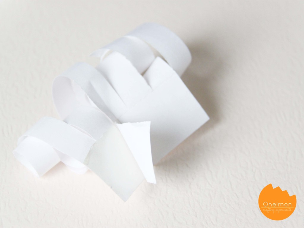 DIY Tape Gift Bow | onelmon