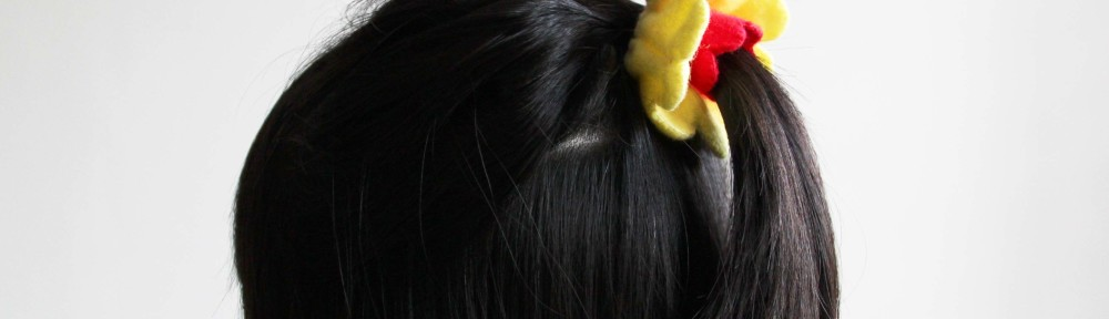 DIY Felt Flower Hairband
