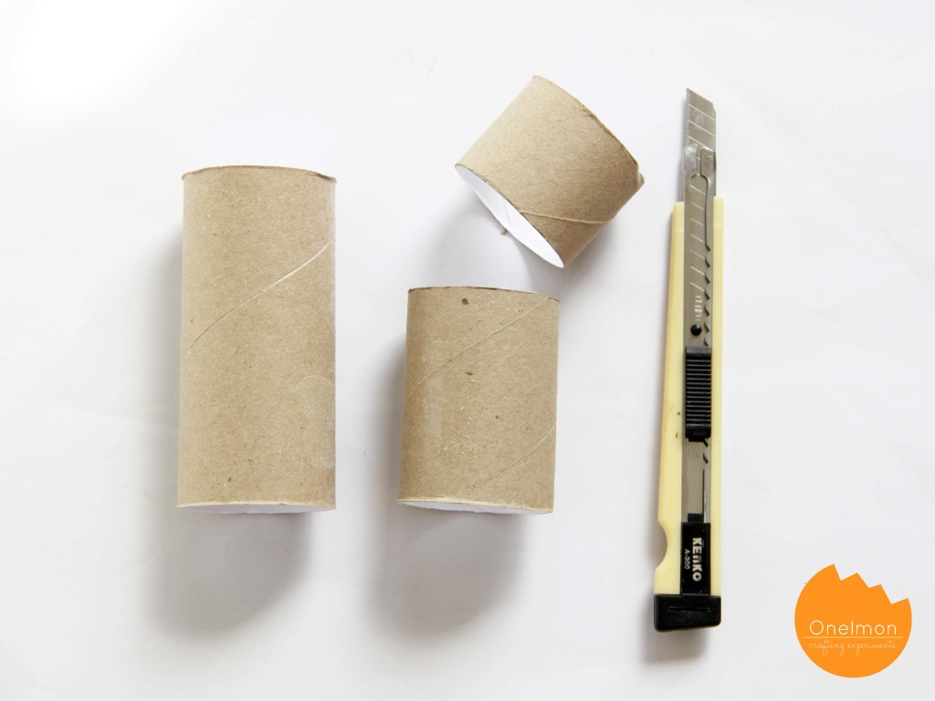 DIY Pencil case from toilet roll and felt | onelmon