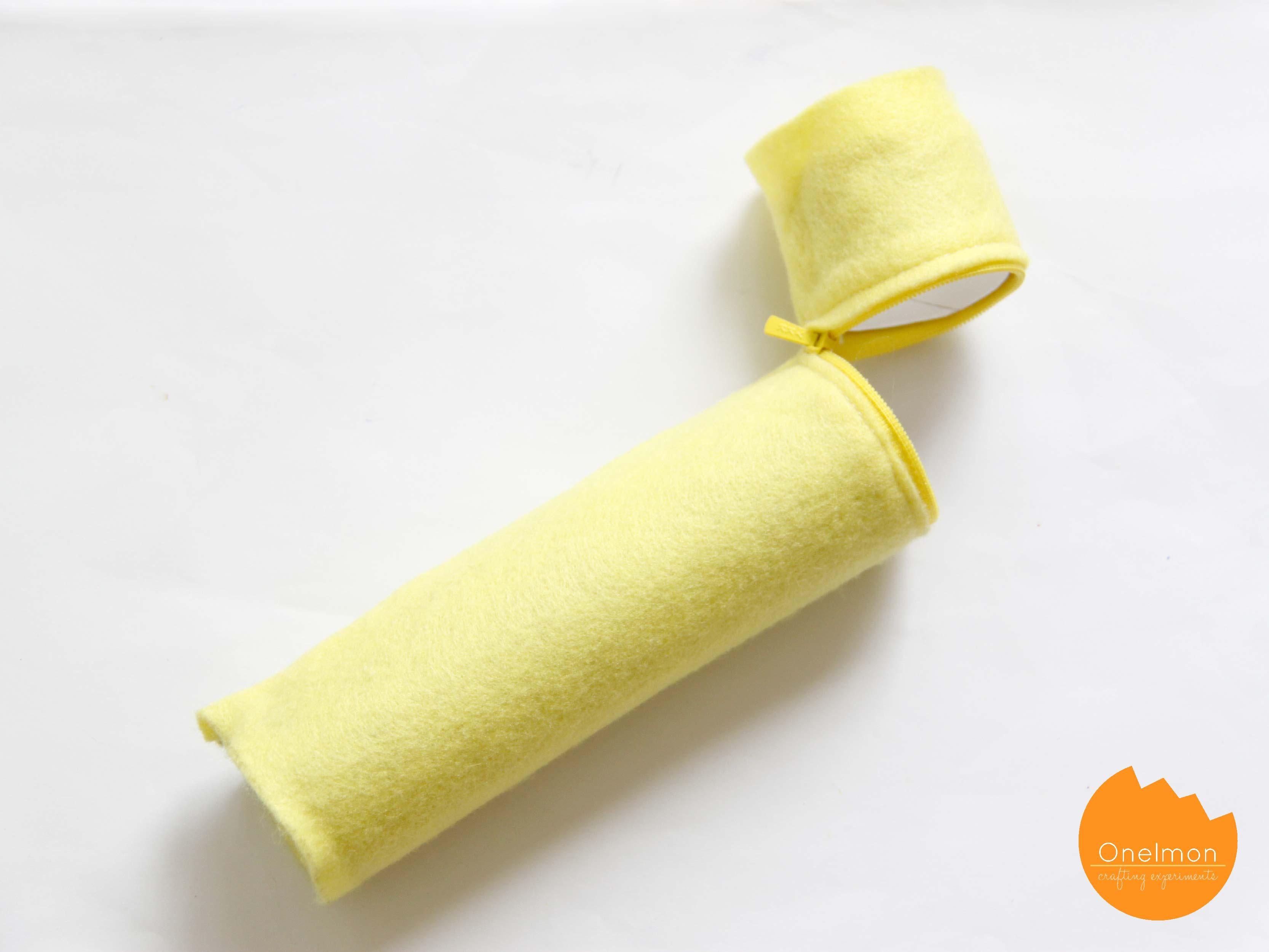 DIY Toilet Roll Pencil Case with Felt | onelmon
