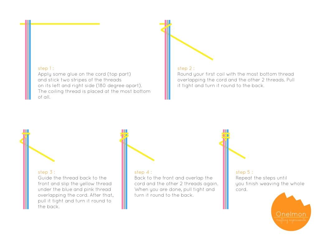 DIY Woven Earphones Cords | onelmon