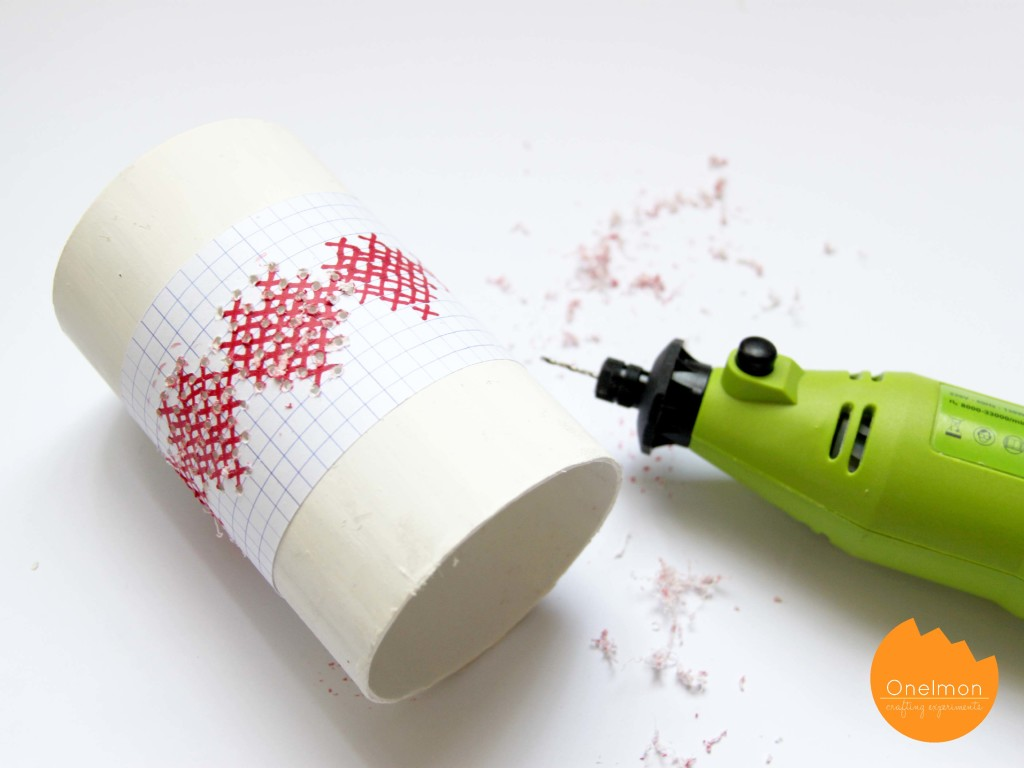 DIY: Cross Stitching on Pipe | onelmon