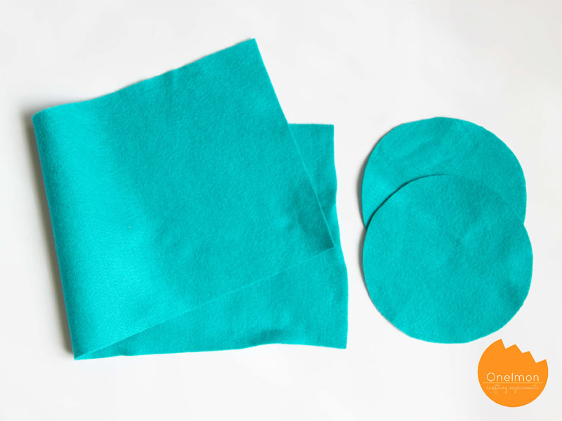 DIY Tutorial: Simple Drawstring Bag | onelmon via. A Nest for All Seasons