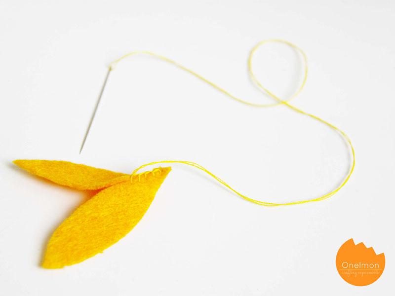 DIY Tutorial: Mini Pumpkin | onelmon for A Nest for All Seasons