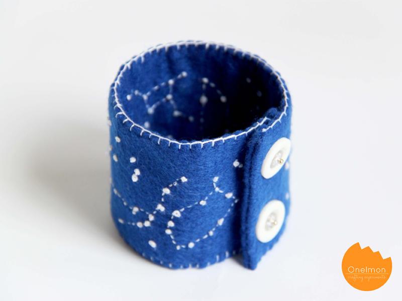 DIY Tutorial: Constellation Wristband | onelmon