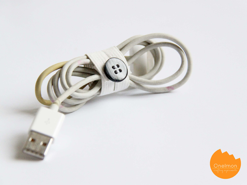 DIY Tutorial: Elastic Fastener | onelmon
