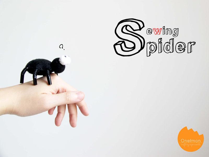 DIY Tutorial: Sewing Spider | onelmon