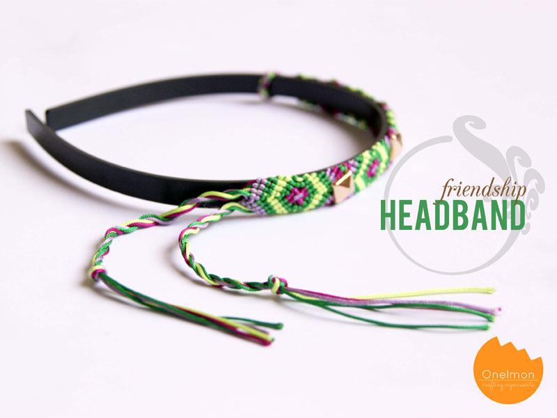 DIY Tutorial: Friendship Headband   onelmon