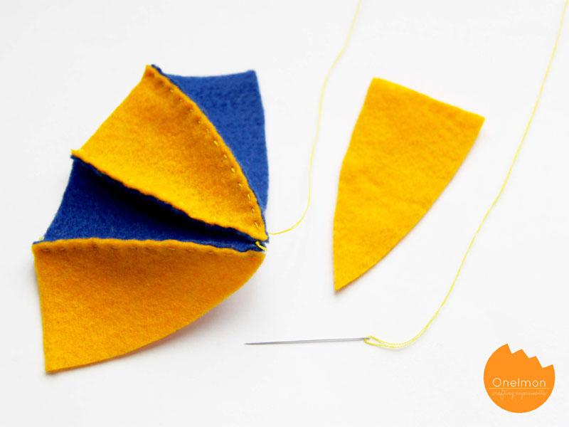 DIY Tutorial: Felt Ball Pouch | onelmon