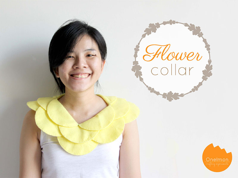 DIY Tutorial: Flower Collar | onelmon