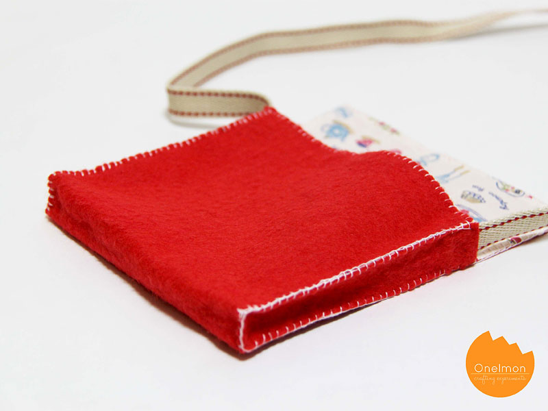 DIY Tutorial: Easy Sling Bag | @onelmon