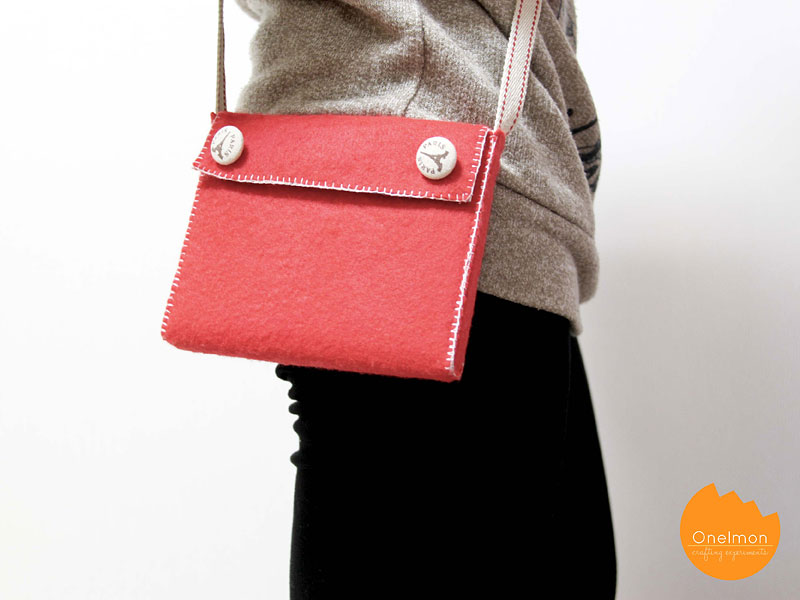 DIY Tutorial: Easy Sling Bag | @onelmon for @amyk