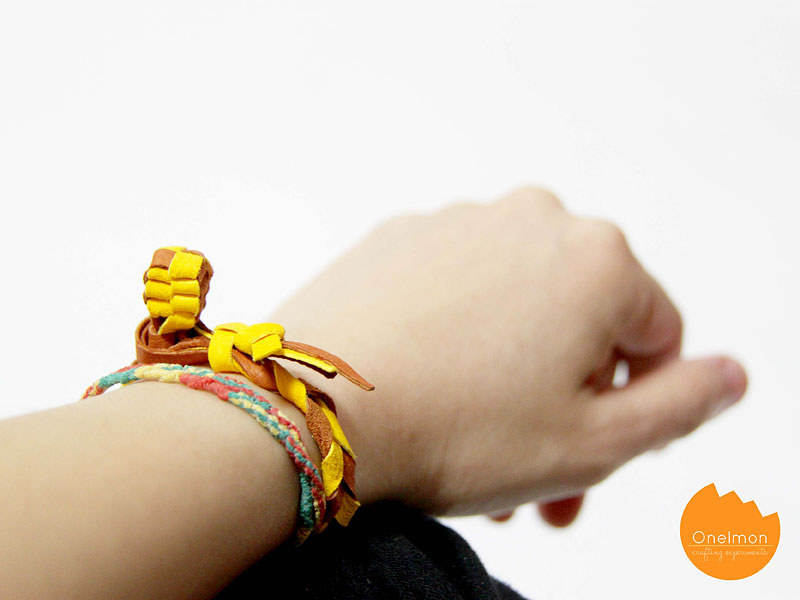 DIY Tutorial: Knot Bracelet | @onelmon